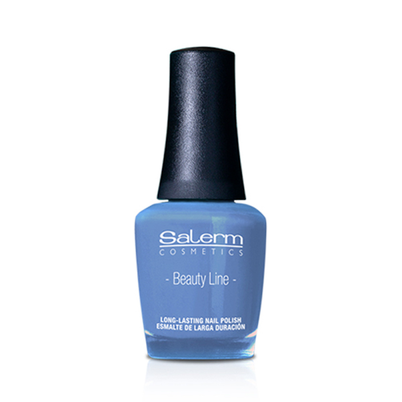 Salerm Beauty Line Vegan lak na nehty 20 Blue Sky 15 ml