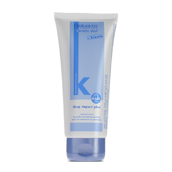 Salerm Keratin Shot Deep Impact Plus maska na vlasy 200 ml