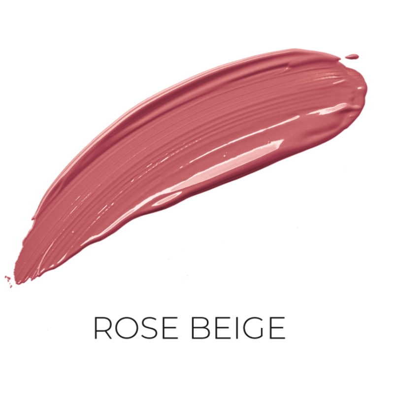 Salerm Beauty Line Perfect Matte matná tekutá rtěnka PM03 Rose Beige 9 ml