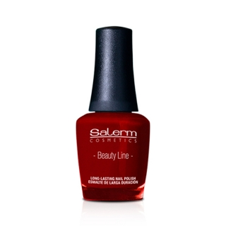 Salerm Beauty Line Vegan lak na nehty 08 Russian Red 15 ml