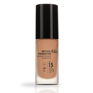 Salerm Beauty Line Natural Foundation středně krycí make-up F10 30 ml