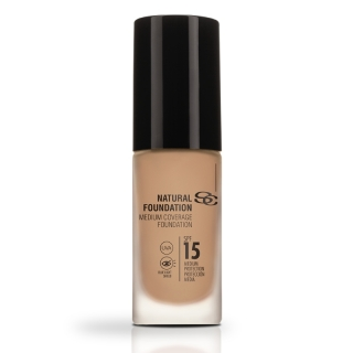 Salerm Beauty Line Natural Foundation středně krycí make-up F20 30 ml